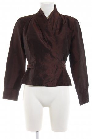Peek & Cloppenburg Wraparound Blouse brown elegant