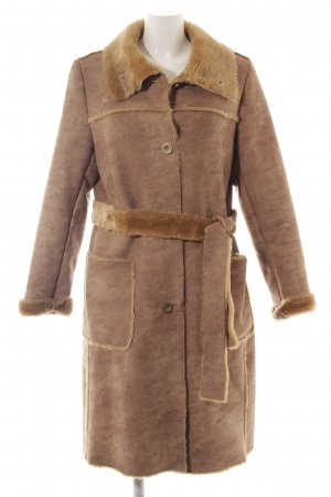 Peek & Cloppenburg Wintermantel camel-sandbraun Casual-Look