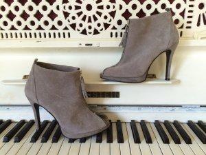Peep-Toe-Ankle-Boots, Gr 38, wie neu, letzter Preis