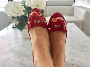 Peep- Toes in Rot von Peter Kaiser