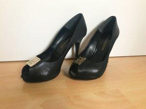 Peep-Toes mit roter Sohle von ROCCOBAROCCO