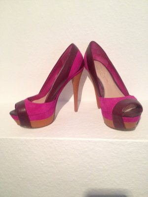 Peeptoe High Heel Pumps