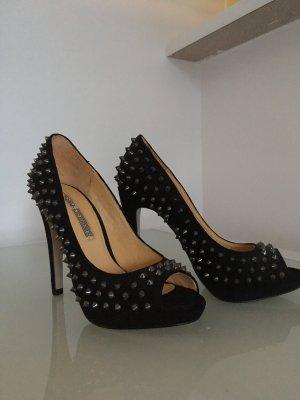 Peeptoe High Heels