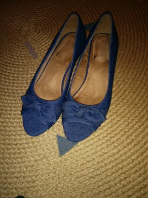 Aerosoles Peep Toe Pumps blauw