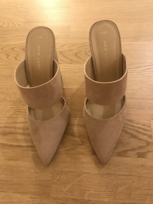 Peeptoe-Mules von New Look, Gr. 38