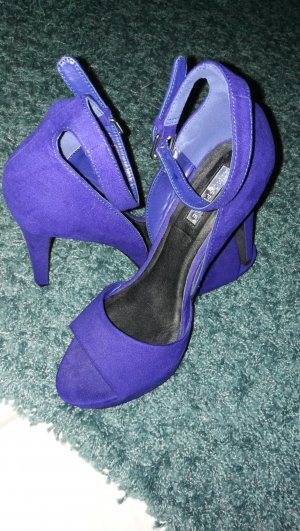 Atmosphere Peep Toe Pumps blauw
