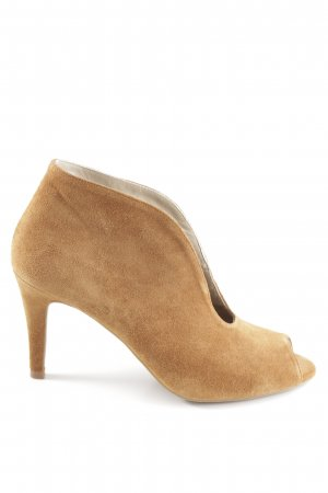 Peep Toe Pumps cognac-coloured casual look