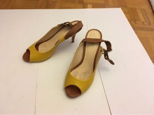 Cosmoparis High Heel Sandal yellow