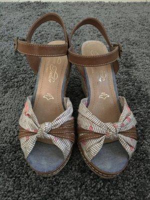 Peeptoe Sandalen von Tom Tailor