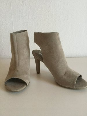 Graceland High-Heeled Sandals grey brown