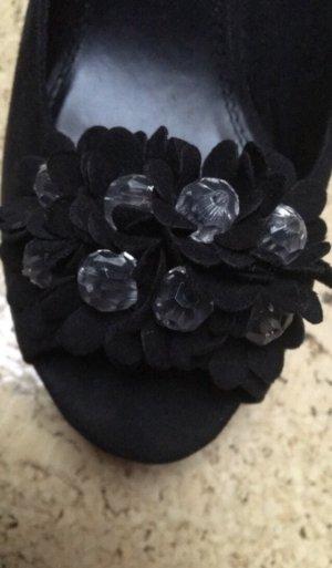 Bellissima Sandalo infradito con tacco alto nero