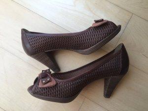 Peeptoes High heels Minozzi Milano Größe 38 NEU