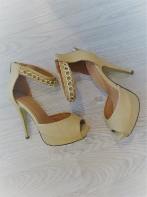Peeptoes Highheels Stilettos Glam-Style