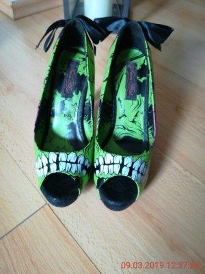 Peeptoes Iron Fist Zombie Stomper Heel