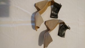 Marc Jacobs Peep Toe Pumps anthracite-beige