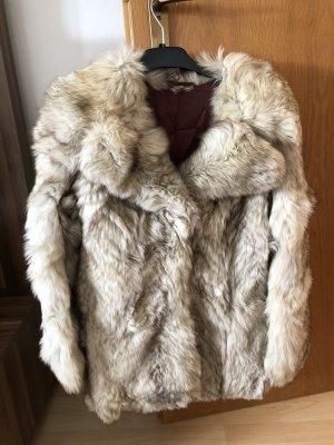 Pelt Coat light grey