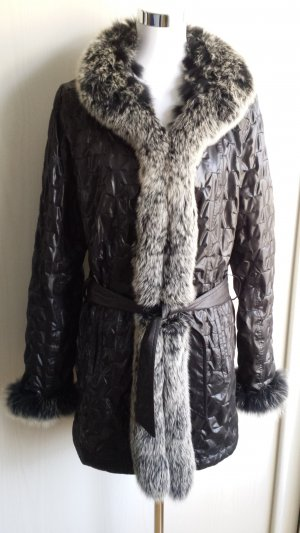 David Moore Pelt Jacket black