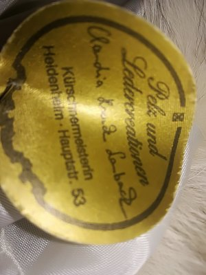 Pelz Mütze Kürschner Stück Unikat