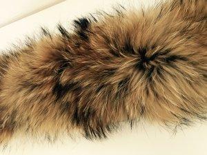 Pelz Pelzkragen Waschbär 85-90 cm lang / 8-15 cm breit neu