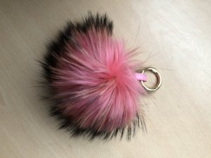 Key Chain multicolored pelt