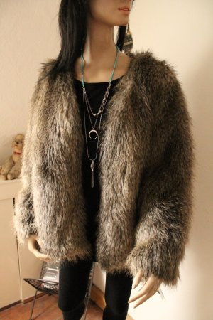 Pelzjacke * Fake Fur * Webpelz * Oversize * kaum getragen * neuwertiger Zustand *