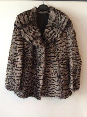 Pelt Jacket black-grey brown