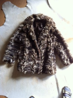 Fur Jacket multicolored fur