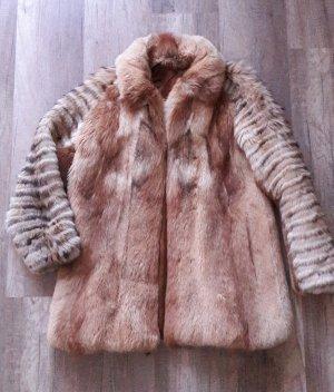 Pelzjacke Pelz Fell Fur Echtfell Fuchs 36 Vintage Jacke