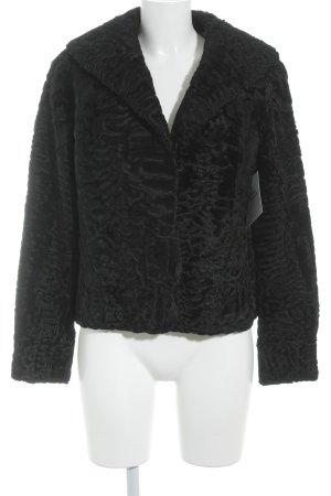 Pelzjacke schwarz Elegant