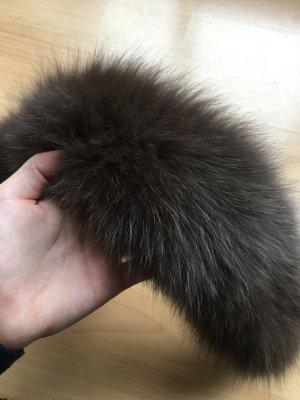 Pelzkragen - brauner Waschbär
