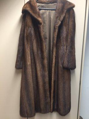 Saga Mink Pelt Coat multicolored