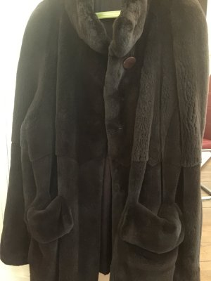 Saga Mink Pelt Coat multicolored pelt
