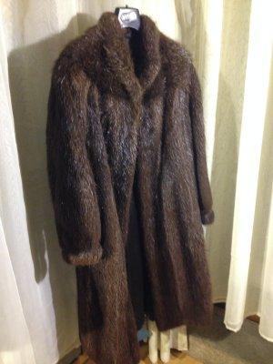 Pelt Coat dark brown pelt
