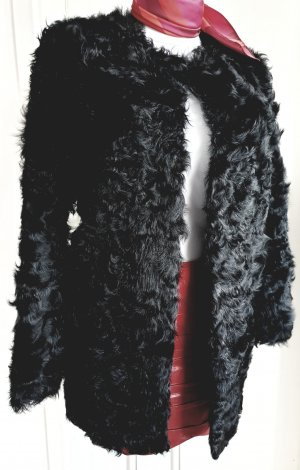 Pelzmantel Persianer schwarz