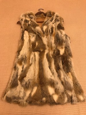 Pelzweste 100% real Fur
