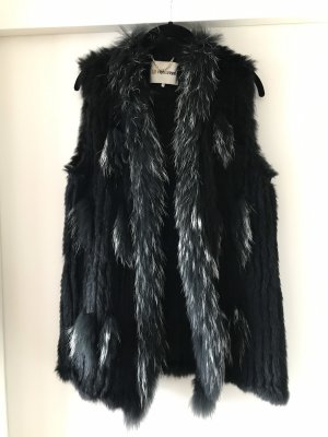 Rich & Royal Bontgilet zwart