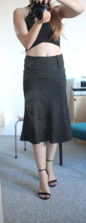 Pencil Skirt Midi Rock  Vintage Bleistiftrock Hight waist
