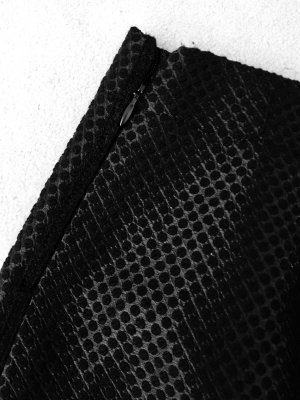 Pencil Skirt, Rock schwarz