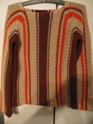 pencini - Damengrobstrickpullover - todschick - U-Boot-Ausschnitt