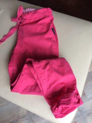 Penn & Ink Baggy Pants raspberry-red