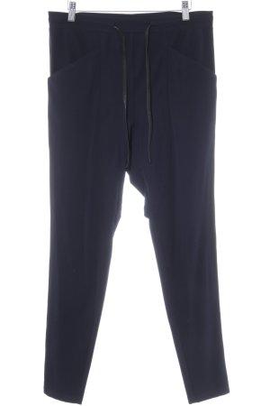 Penn & Ink Stretchhose dunkelblau Casual-Look