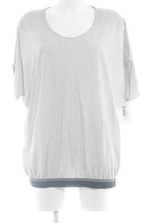Penn & Ink T-Shirt hellgrau-dunkelblau Street-Fashion-Look