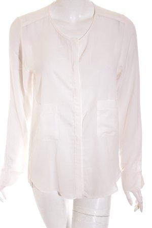 Pennyblack Langarm-Bluse weiß klassischer Stil