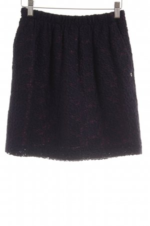 Pennyblack Lace Skirt pink-dark blue floral pattern casual look