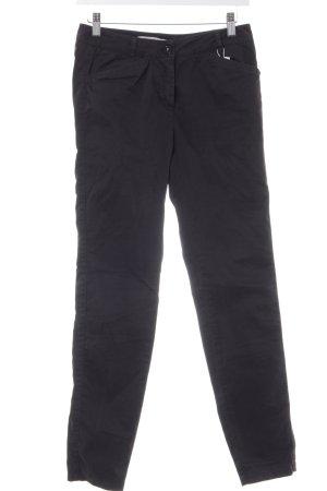 Pennyblack Pantalon en jersey noir-argenté style décontracté