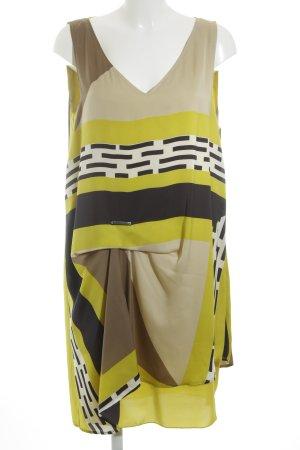 Pennyblack Trägerkleid grafisches Muster extravaganter Stil