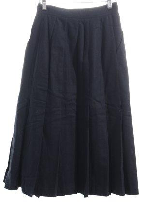 Pennyblack Wollrock dunkelblau schlichter Stil