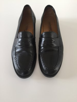 Amberone Slippers black leather