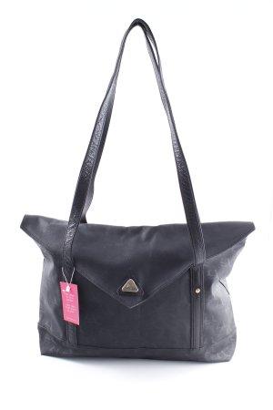 Pensato Shopper schwarz Casual-Look