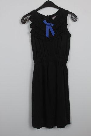 Pepaloves Kleid Gr. XS schwarz mit blauer Schleife (18/7/184)